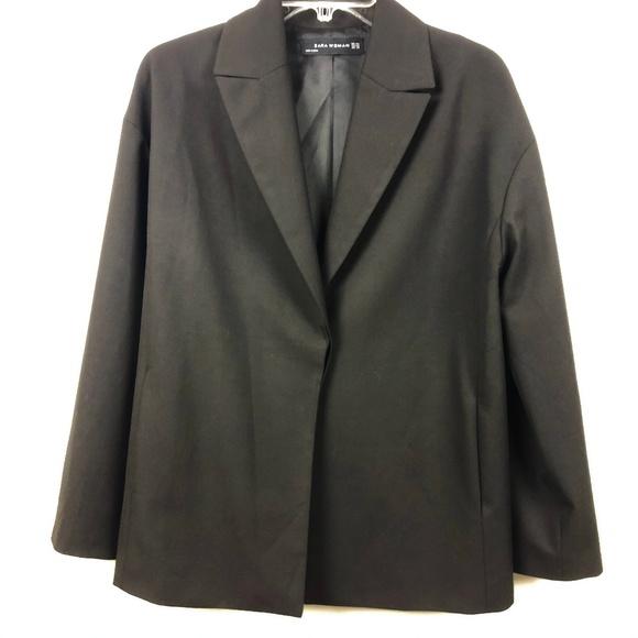 Zara Jackets & Blazers - Zara oversized loose fit single button blazer